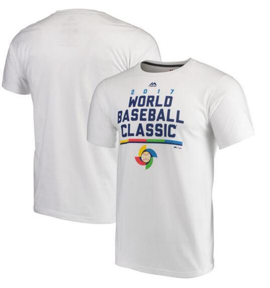 USA Baseball Majestic 2017 World Baseball Classic World Domination T-Shirt White