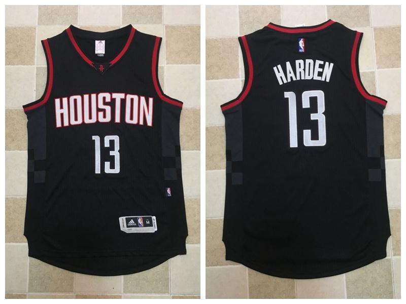 Rockets 13 James Harden Black Swingman Jersey