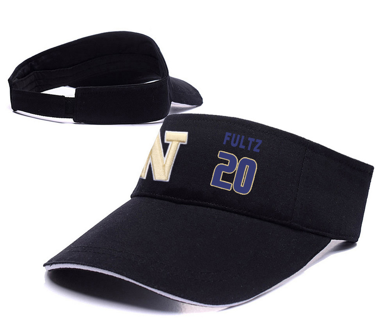 Washington Huskies 20 Markelle Fultz Black College Basketball Adjustable Visor