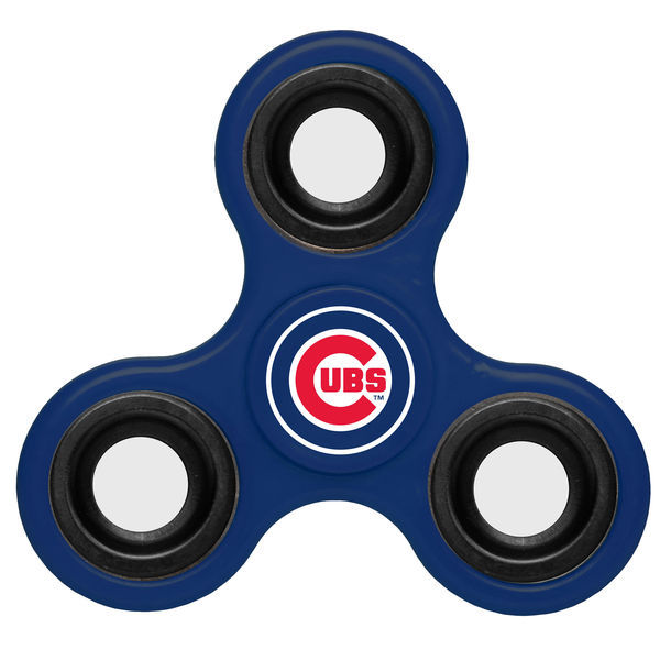 Cubs Team Logo Blue Fidget Spinner
