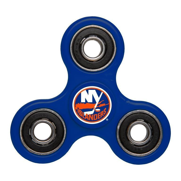 Islanders Team Logo Blue Fidget Spinner