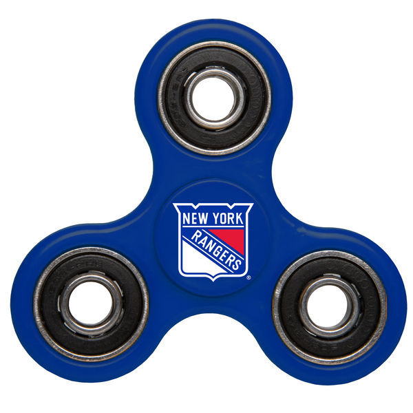 Rangers Team Logo Blue Fidget Spinner