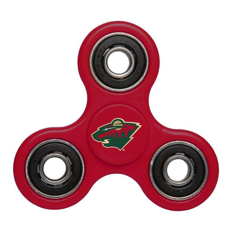 Wild Team Logo Red Fidget Spinner