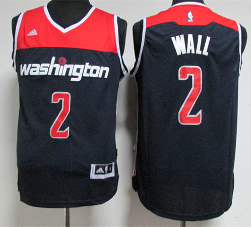 Wizards 2 John Wall Navy Swingman Jersey