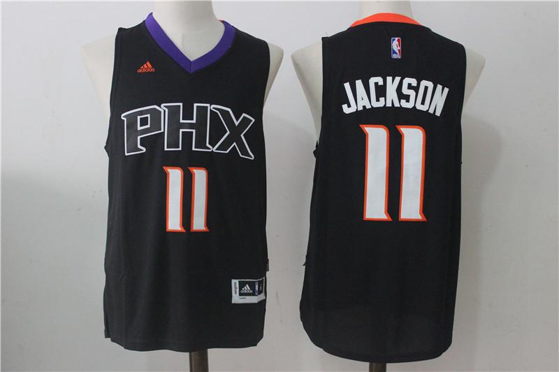 Suns 11 Josh Jackson Black Swingman Jersey
