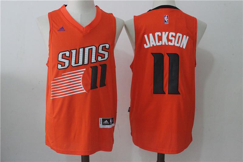 Suns 11 Josh Jackson Orange Swingman Jersey