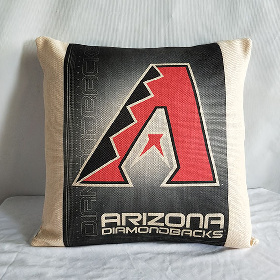 Arizona Diamondbacks Baseball Pillow2