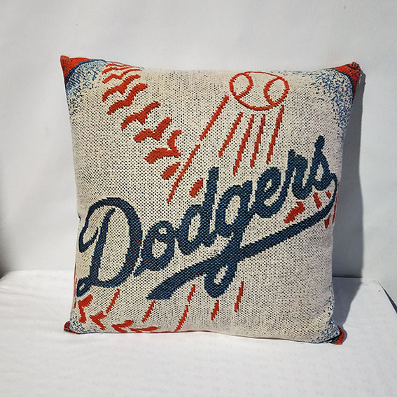 Los Angeles Dodgers Baseball Pillow