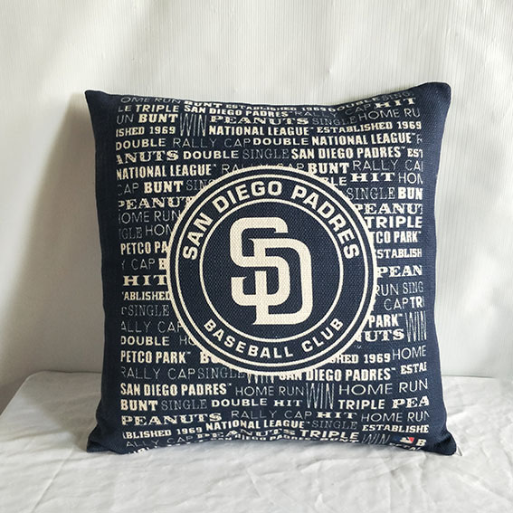 San Diego Padres Baseball Pillow2