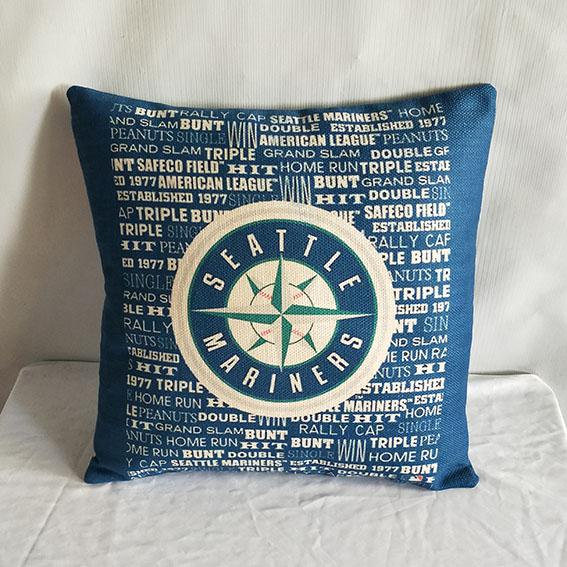 Seattle Mariners Baseball Pillow2