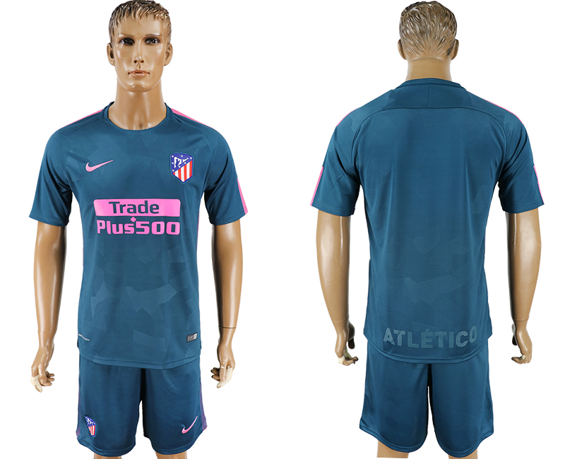2017-18 Atletico Madrid Third Away Soccer Jersey