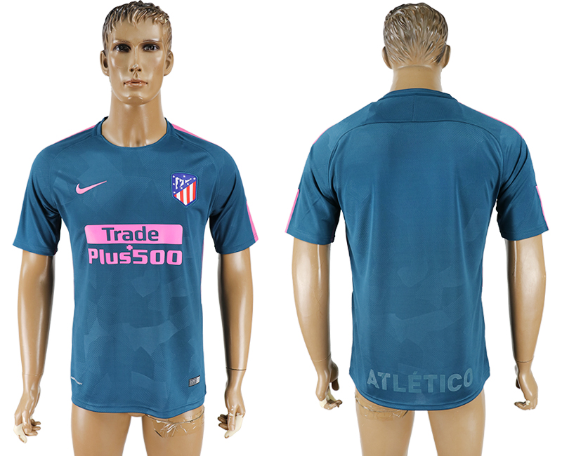 2017-18 Atletico Madrid Third Away Thailand Soccer Jersey