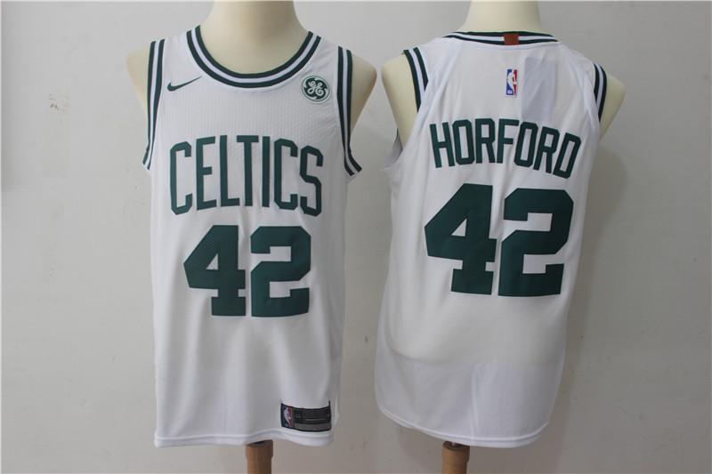 Celtics 42 Al Horford White Nike Authentic Jersey