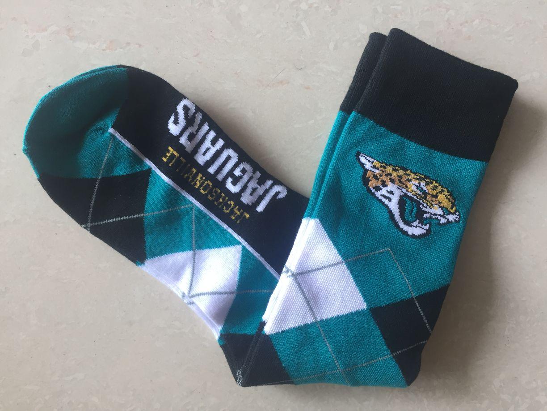 Jacksonville Jaguars Team Logo NFL Socks