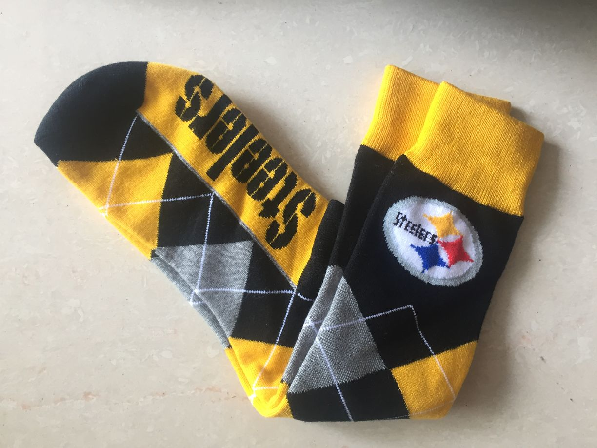 Pittsburgh Steelers Team Logo NFL Socks