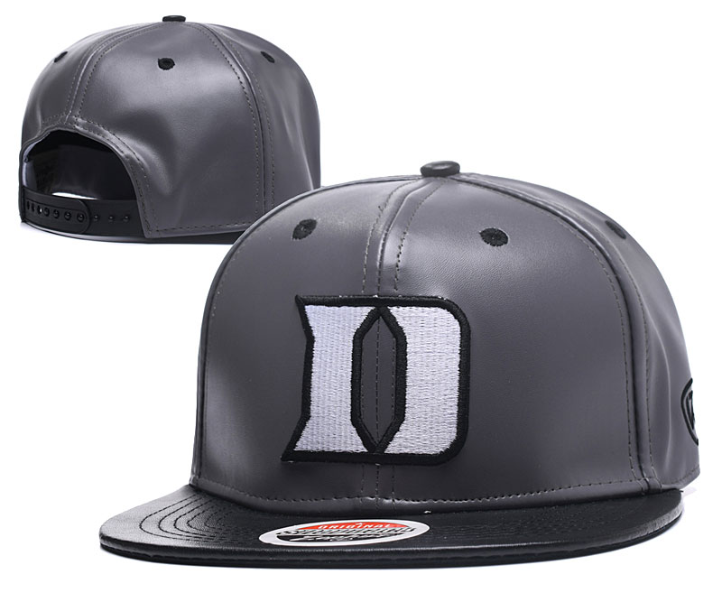 Duke Blue Devils Team Logo Gray Adjustable Hat GS