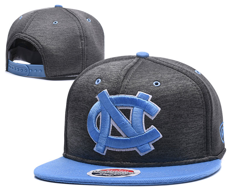 North Carolina Tar Heels Team Logo Gray Adjustable Hat GS