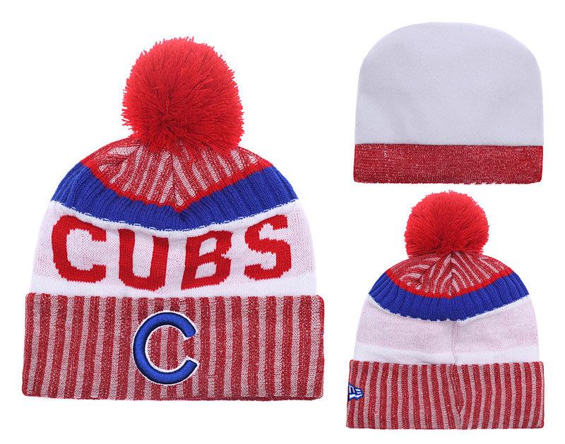 Cubs Fresh Logo Knit Hat YD