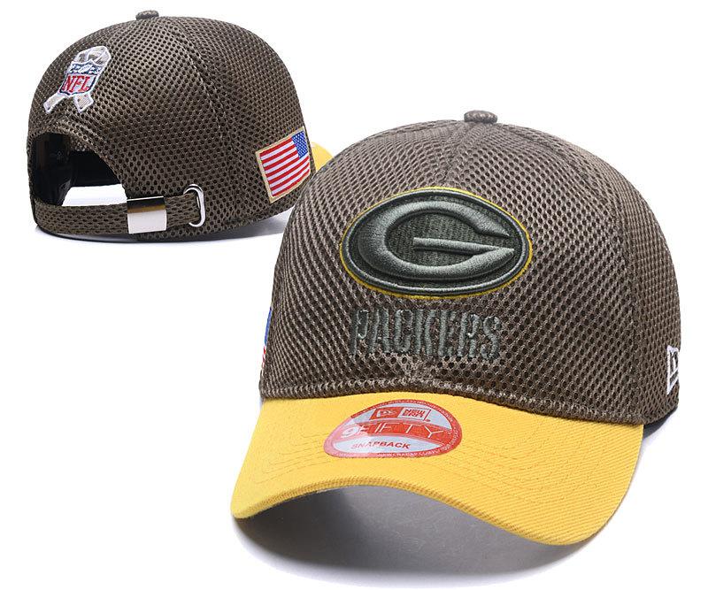 Packers Team Logo Peaked Adjustable Hat XDF