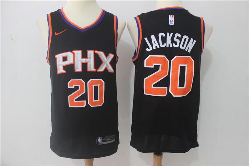 Suns 20 Josh Jackson Black Swingman Jersey