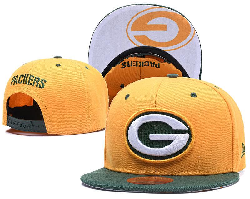 Packers Team Logo Snapback Adjustable Hat LT