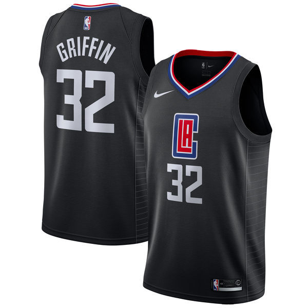Clippers 32 Blake Griffin Black Nike Swingman Jersey