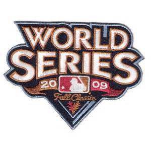 MLB 2009 World Series Patch