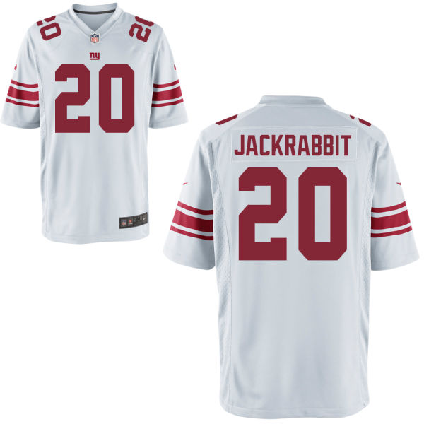 Nike Giants 20 Jackrabbit White Youth Game Jersey