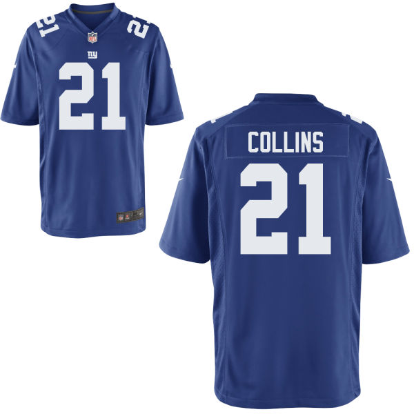 Nike Giants 21 Landon Collins Blue Youth Game Jersey