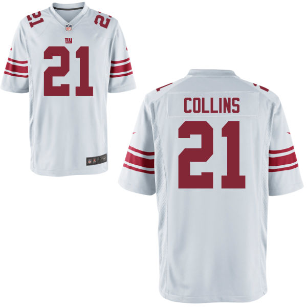 Nike Giants 21 Landon Collins White Youth Game Jersey