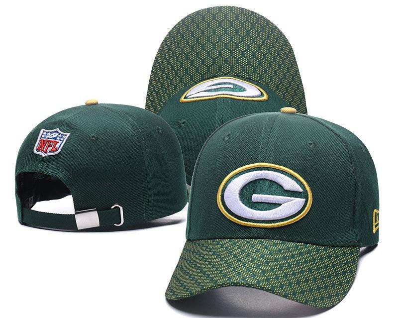 Packers Team Logo Green Peaked Adjustable Hat XDF