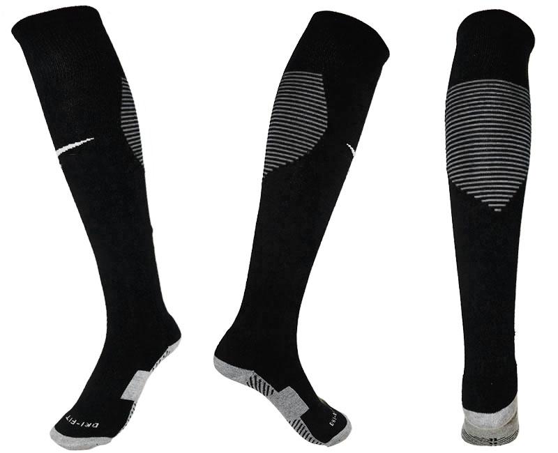 Nike Logo Black Thailand Soccer Socks