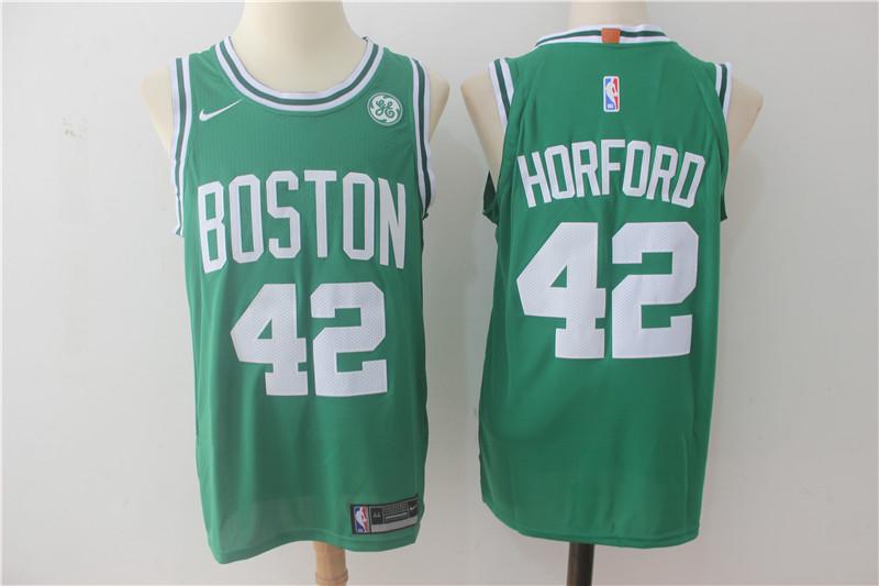 Celtics 42 Al Horford Green Nike Authentic Jersey