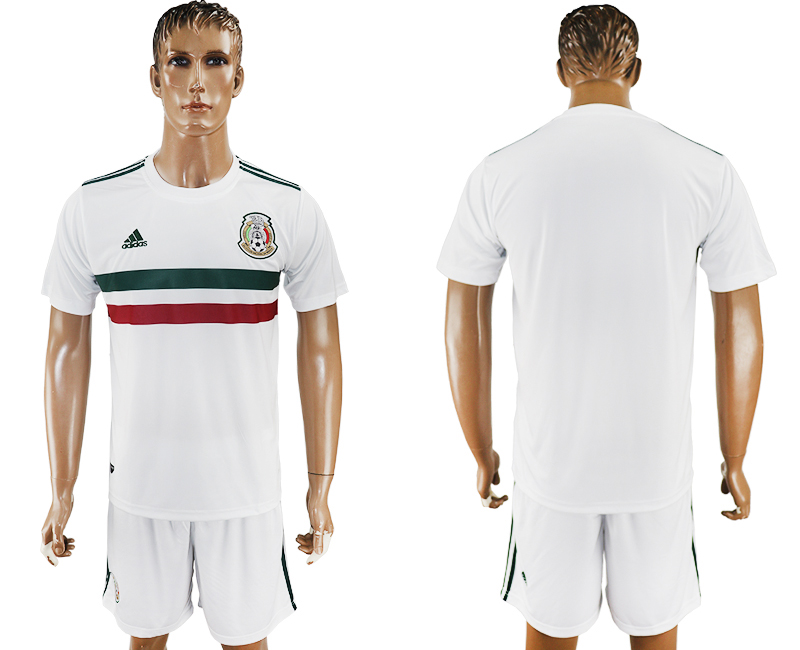 2017-18 Mexico Away Soccer Jersey