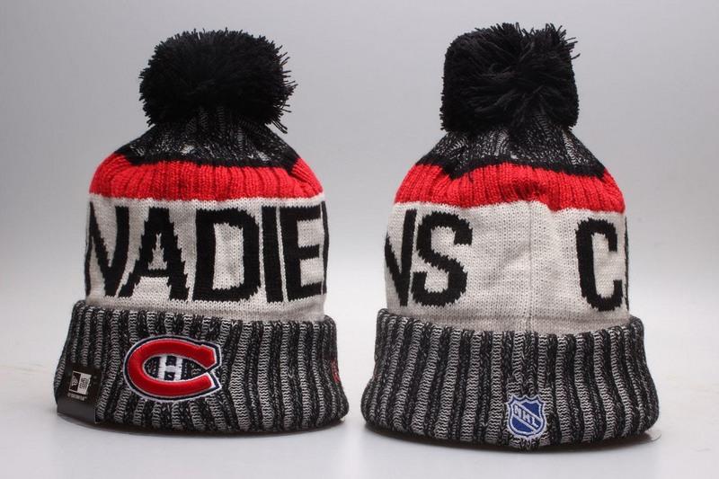 Canadiens Team Logo Knit Hat YP