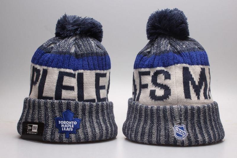 Maple Leafs Team Logo Knit Hat YP