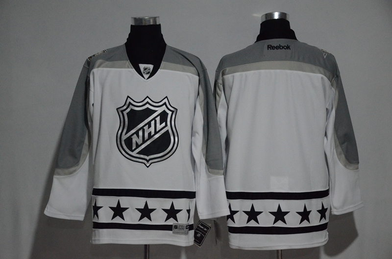 NHL Blank White Metropolitan Division 2017 NHL All-Star Game Premier Jersey