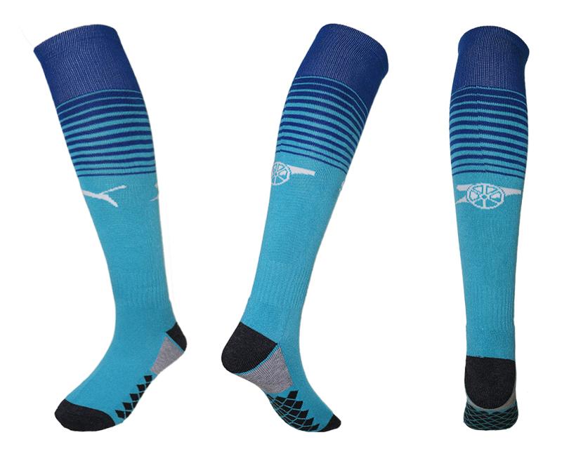 2017-18 Arsenal Blue Soccer Socks