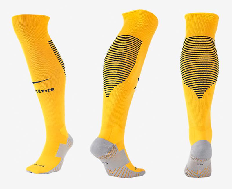 2017-18 Atletico Madrid Away Soccer Socks