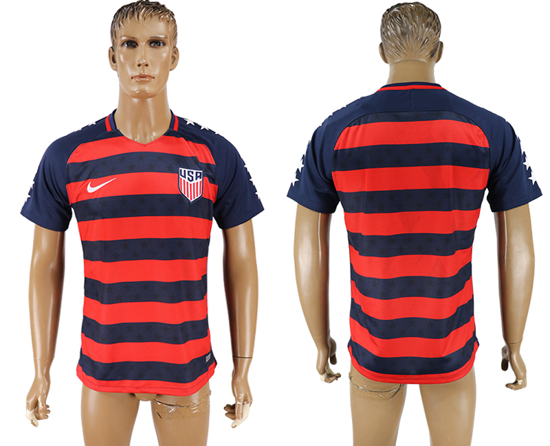 USA 2017 CONCACAF Gold Cup Away Thailand Soccer Jersey
