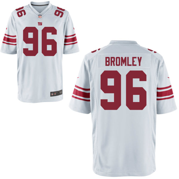 Nike Giants 96 Jay Bromley White Youth Game Jersey