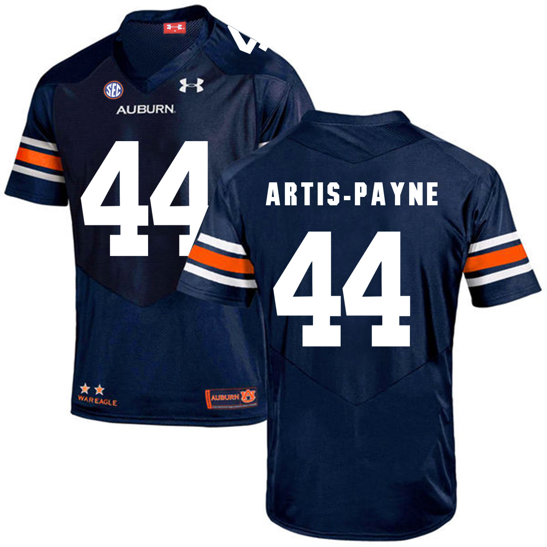 Auburn Tigers 44 Cameron Artis-Payne Navy College Football Jersey