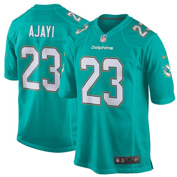 Nike Dolphins 23 Jay Ajayi Aqua Youth Game Jersey