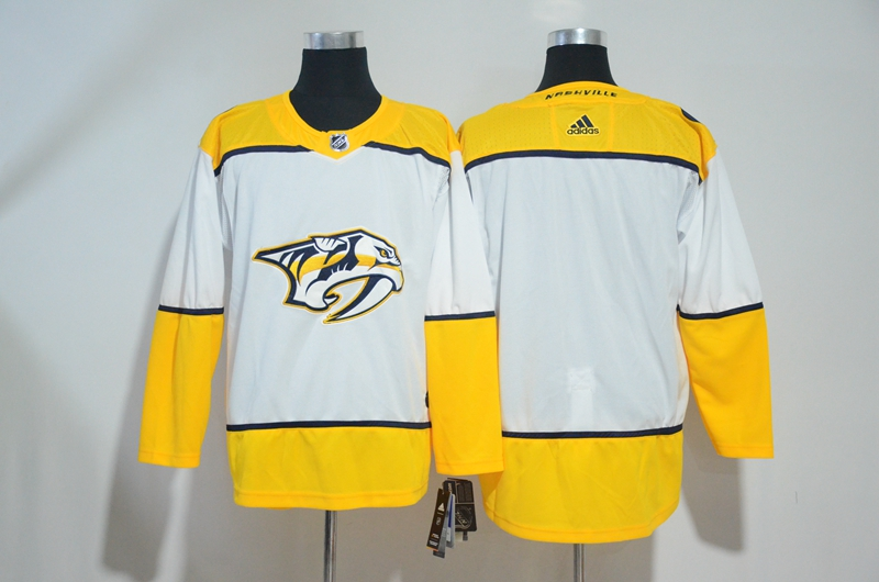 Predators Blank White Adidas Jersey