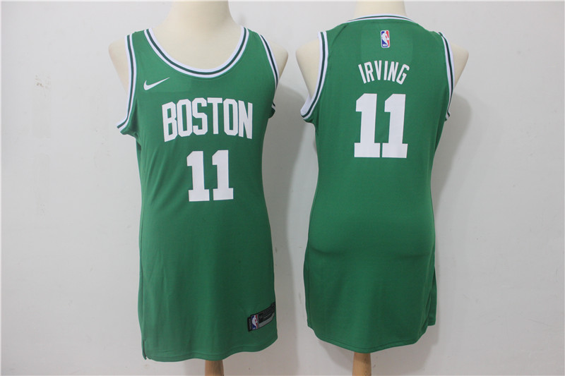Celtics 11 Kyrie Irving Green Women Nike Swingman Jersey
