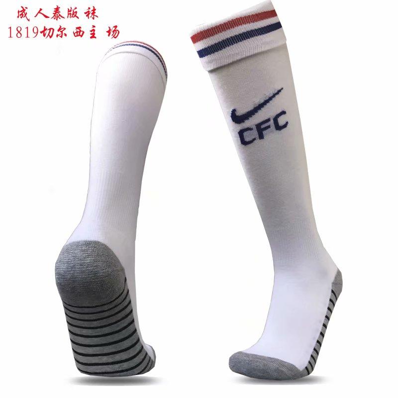 2018-19 Chelsea Home Soccer Socks