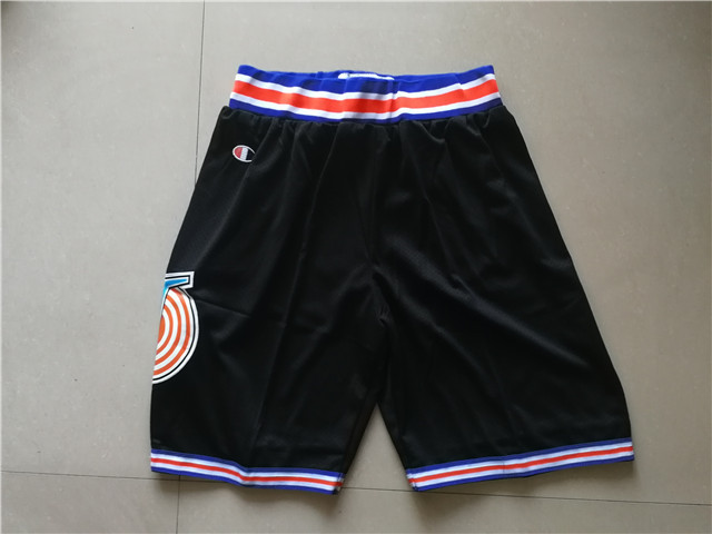 Tune Squad Black Champion Shorts