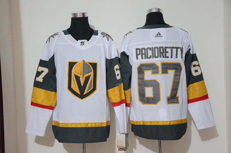 Vegas Golden Knights 67 Max Pacioretty White Adidas Jersey