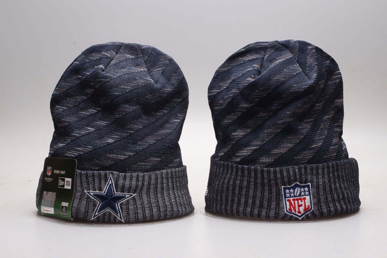 Cowboys Fresh Logo Navy Knit Hat YP
