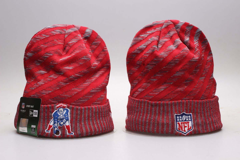 Patriots Fresh Logo Red Knit Hat YP